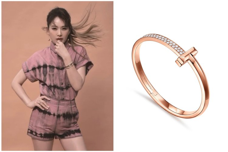 時尚媽咪Melody六月登上兩個時尚雜誌封面,以不同風格的珠寶展現多重魅力。(左...