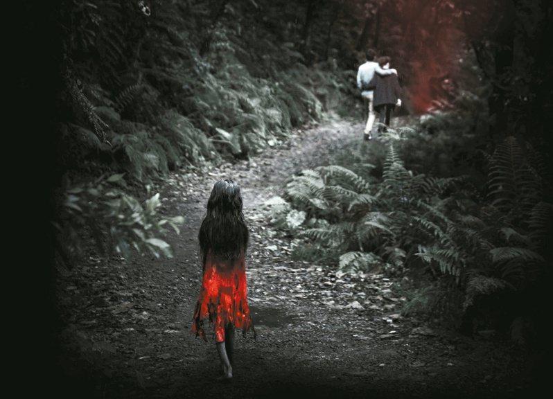 「紅衣小女孩」」被拍成電影,具體化民眾對魔神仔的想像。圖/威視提供