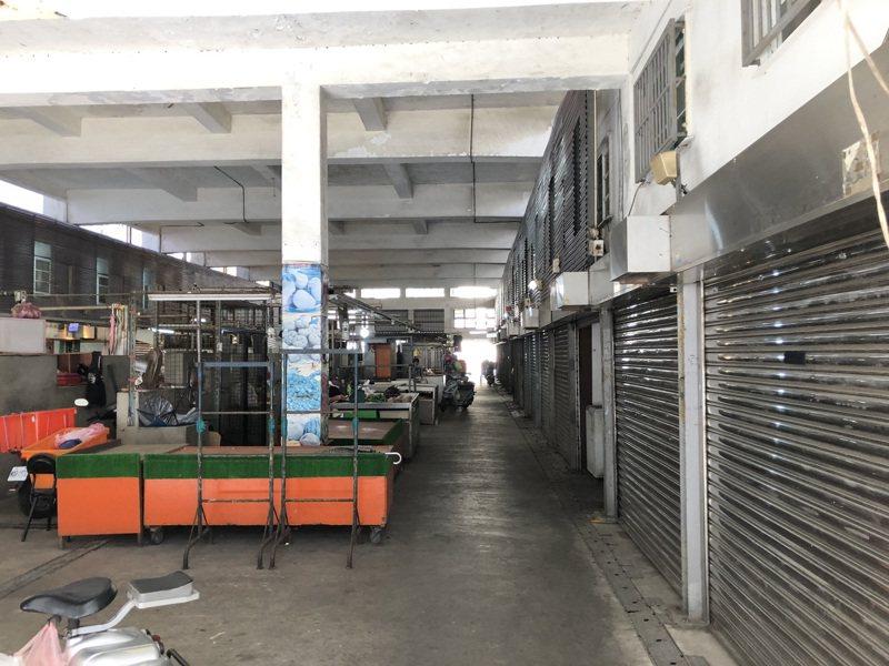 北門市場1965年重建完成至今已55年歷史,市府將投入4550萬元重建。圖/新竹市政府提供