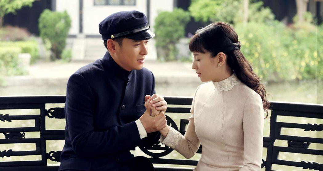 董潔(右)與韓棟上演甜虐感情戲。圖/東風衛視提供