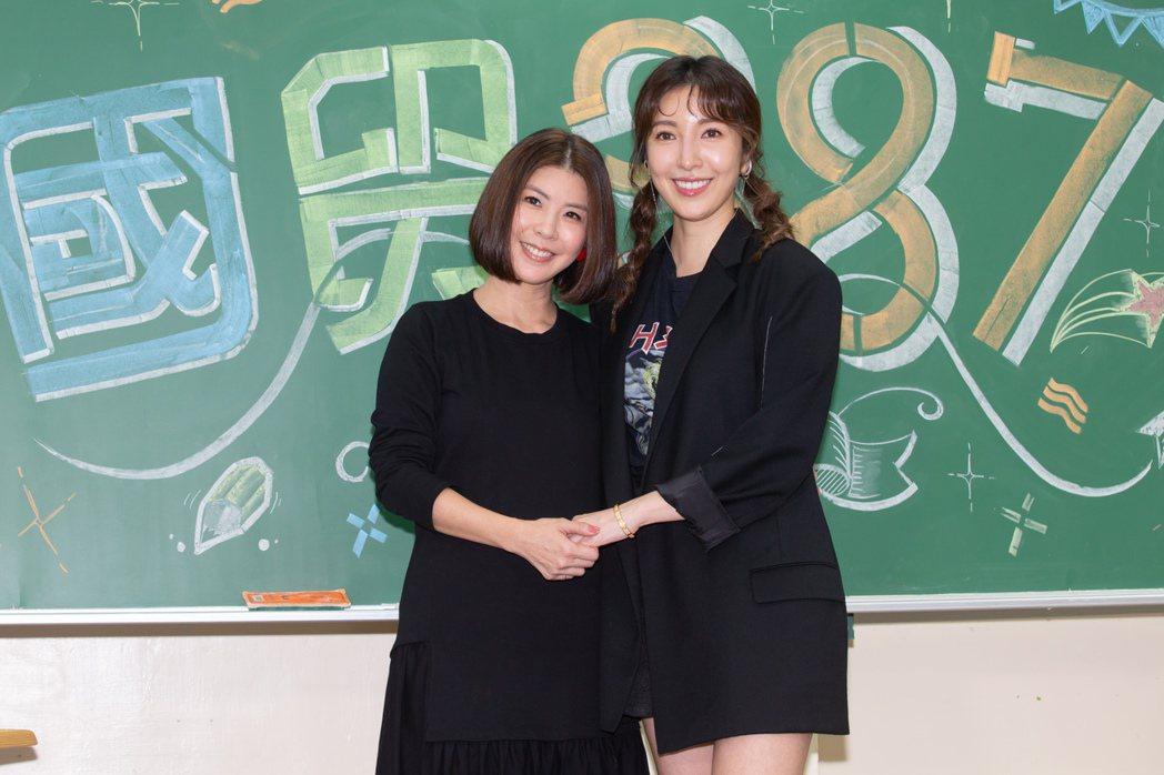 楊謹華和許茹芸因為合作成為好友。記者季相儒/攝影