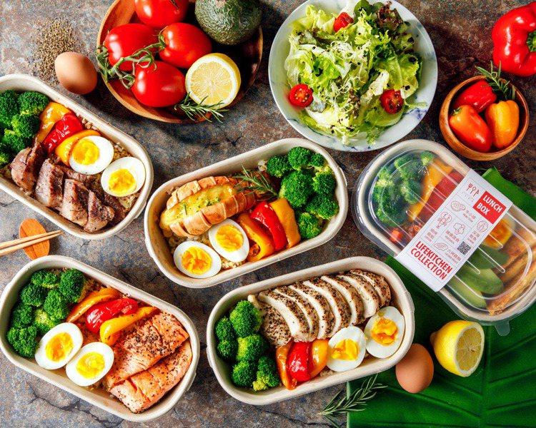 觀察到民眾健康飲食意識提升,低GI餐點、水煮、增肌減脂等健康餐盒成為人氣選項。圖...