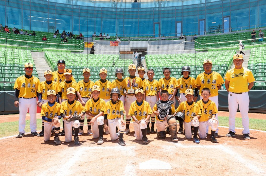 華南金控盃全國少棒錦標賽,屏東縣獲得季軍。圖/中華棒協提供