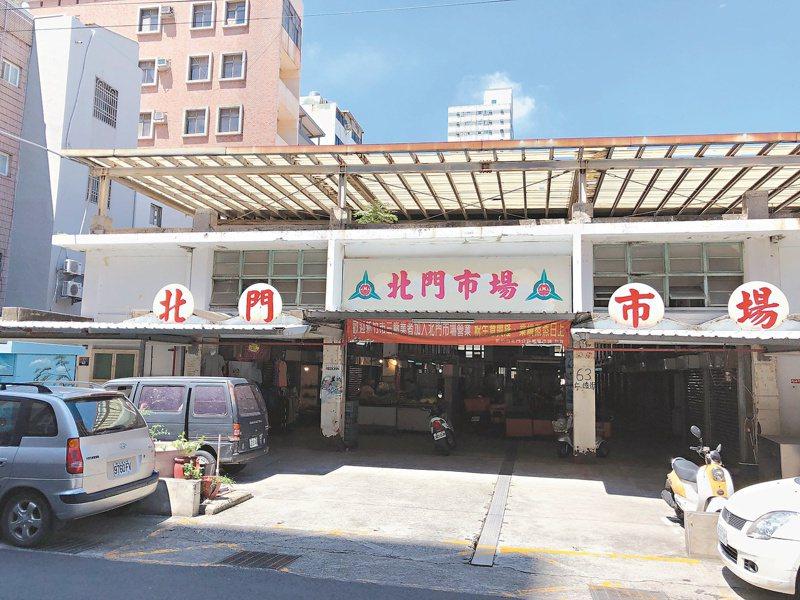 新竹市北門市場重建至今已55年歷史,市府將投入經費整修。 圖/新竹市政府提供