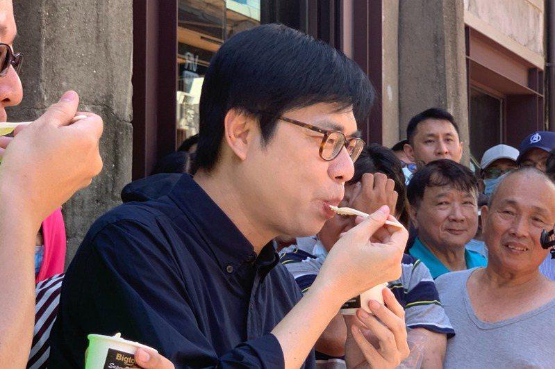 行政院副院長陳其邁將投入高雄市長補選。記者徐如宜/攝影 徐如宜