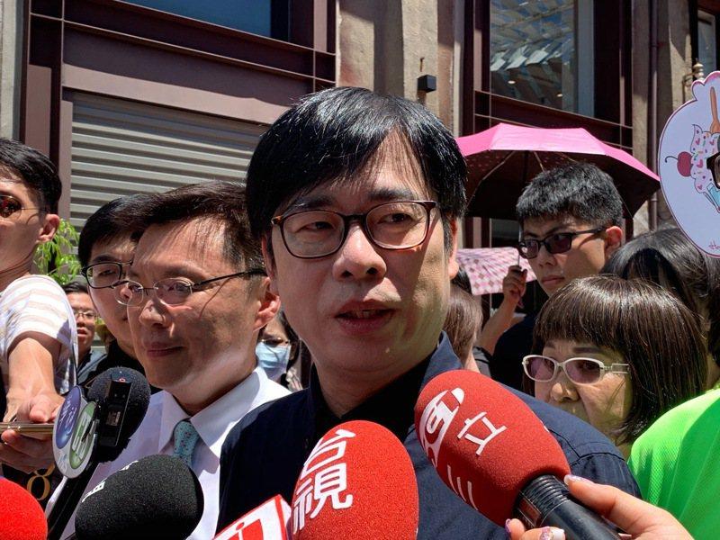 行政院副院長陳其邁表示,現在的高雄需要「重開機」。記者徐如宜/攝影