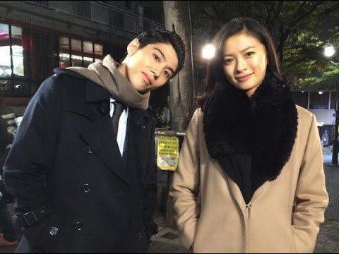 榮倉奈奈(左)與賀來賢人假戲真做成夫妻。圖/摘自日本藝能網站