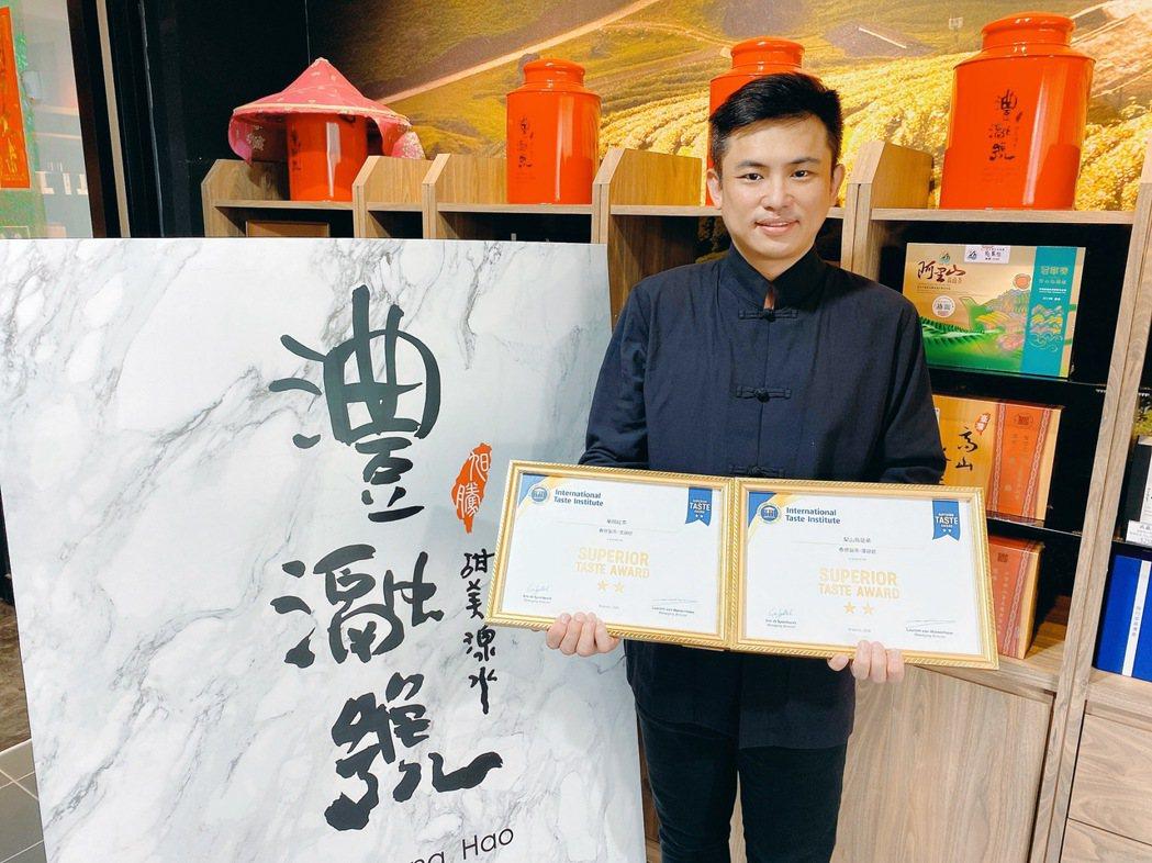 「茶界新貴」澧瀜號創辦人鄭旭騰強調,我只是一個愛喝茶且懂茶生命的人,同時想要大力...