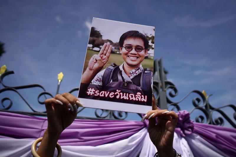 今年6月初遭綁架的萬查勒,是泰國著名的異議人士。 圖/路透社