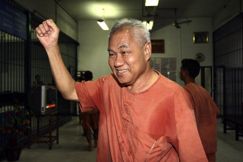 流亡寮國的泰國前共黨份子Surachai Danwattananusorn於2018年失聯,至今下落不明,圖攝於2012年。 圖/美聯社