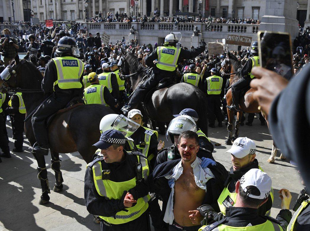 「現今的示威抗爭遊行,並不是針對白人而來,而是所有人對抗整個種族主義。」 圖/美...