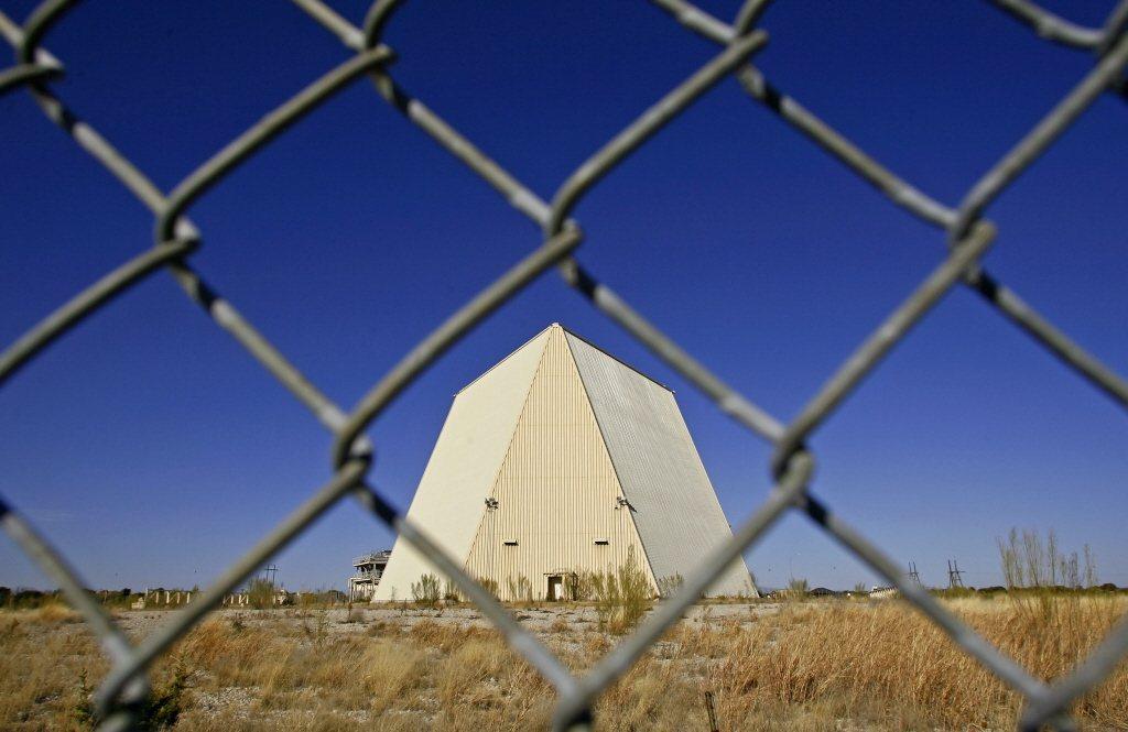 位於德州的鋪路爪長程預警雷達。 圖/美聯社