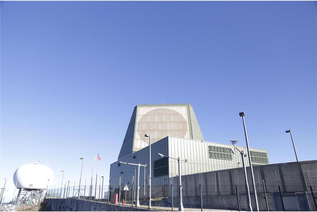樂山雷達站設有長程預警雷達系統。 圖/取自青年日報