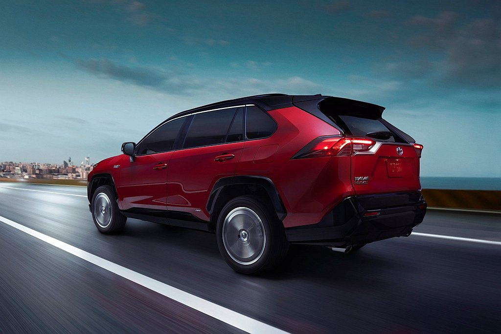 Toyota RAV4 Prime將後置電動馬達的AWD i四輪驅動系統列為標配...