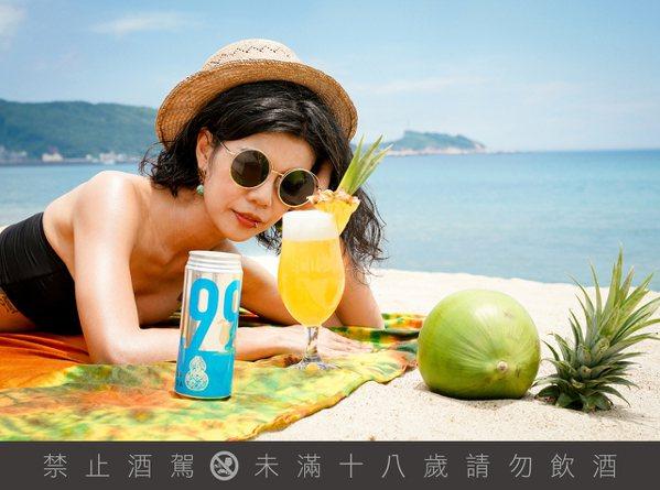 蕃茄蜜餞變啤酒!臺虎精釀×T.C.R.C攜手「餞男醋女酸啤酒」
