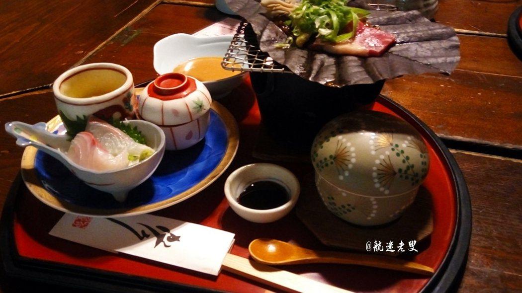 午餐的滿意度很高,用餐後留給自己一些時間, 好奇的在這家庭園餐廳四處逛逛。