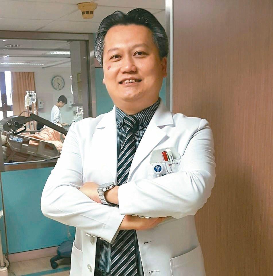 ICU重症醫師陳志金。圖/報系資料照片