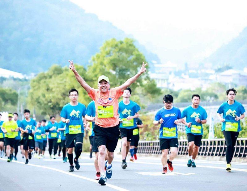 苗栗縣南庄山水馬拉松用雙腿跑進好山、好水、好人情,疫情大解封,將於10月25日登場。圖/南庄鄉農會提供