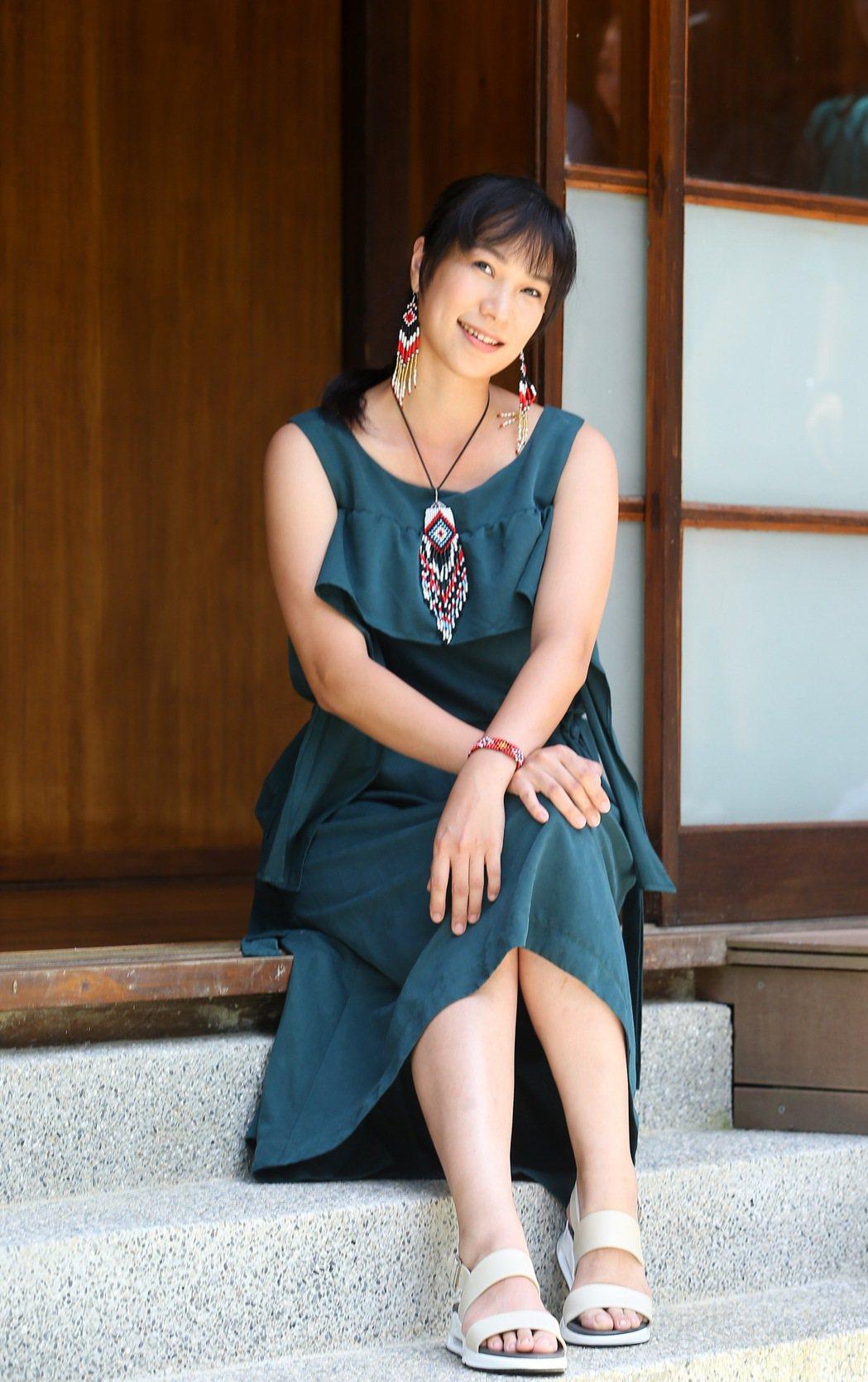 雅維茉芮是白董的妻子,夫婦預計年底推出專輯。記者余承翰/攝影