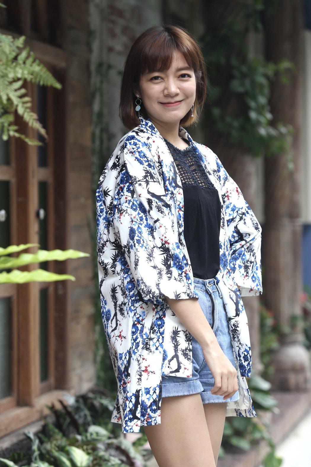 林雨宣經常在戲劇中詮釋「任性小公主」,她澄清本人並不是。記者林俊良/攝影