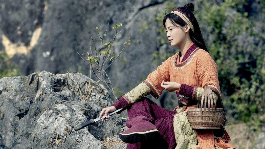 辛芷蕾在「慶餘年」海棠朵朵。圖/中天娛樂台提供