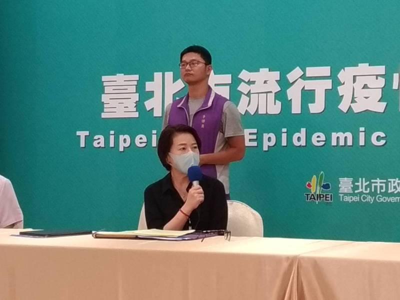 台北市副市長黃珊珊(前)昨天表示,中央有「紓困之亂」,台北市不會有「加碼之亂」,加碼方案全部確認之後,會與外界完整說明。記者林麗玉/攝影
