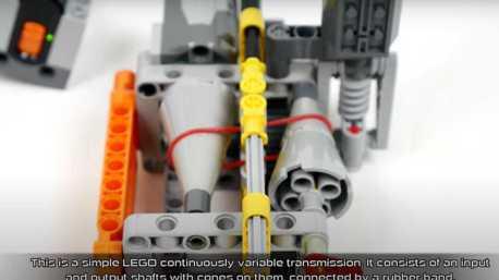 影/CVT變速箱有什麼結構?Lego用積木來教你!