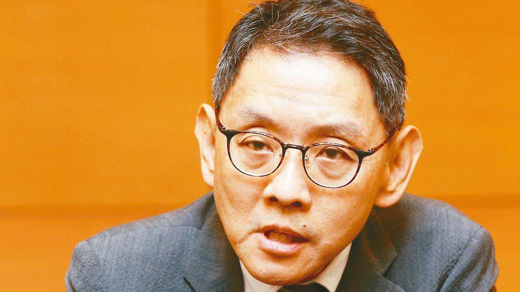 華新科董事長焦佑衡。 記者鄭超文/攝影