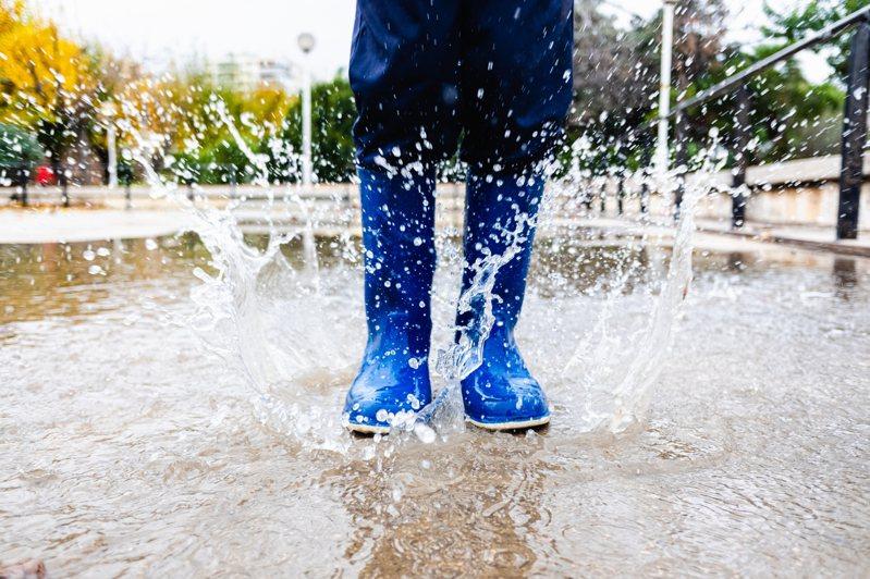 下雨天示意圖。 圖片來源/ingimage
