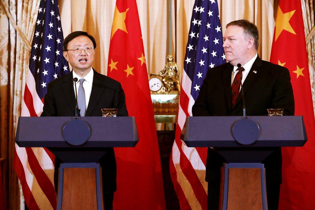 上周末傳出美國國務卿龐佩奧(Mike Pompeo),有意與中國外交高層楊潔篪,...