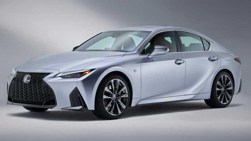 Lexus IS大幅度小改終於發表。 摘自Lexus