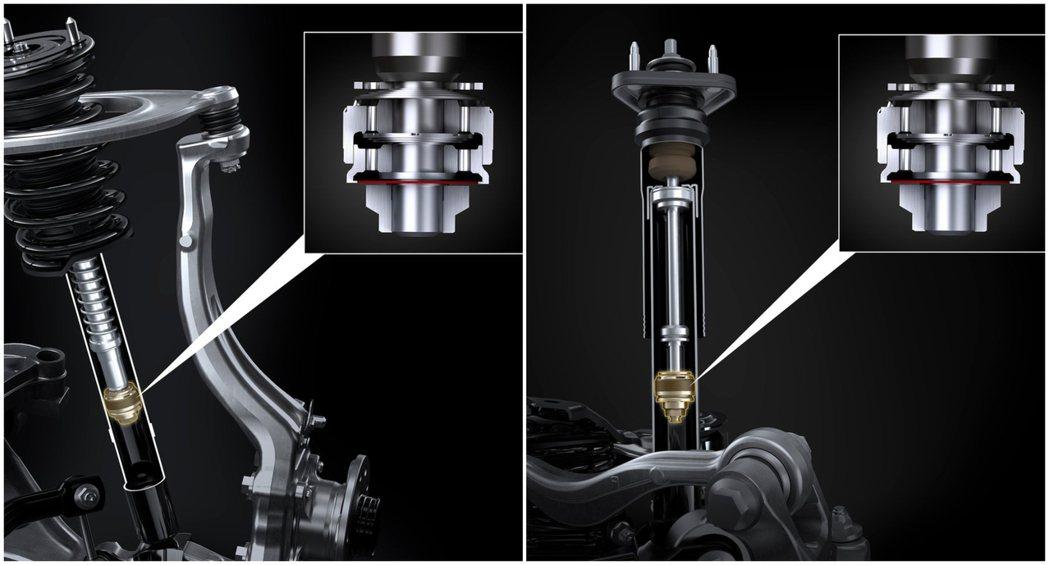 更換了全新可變阻尼避震器,能夠根據路面狀況給予適當阻力道並提供相當的行駛舒適性。...
