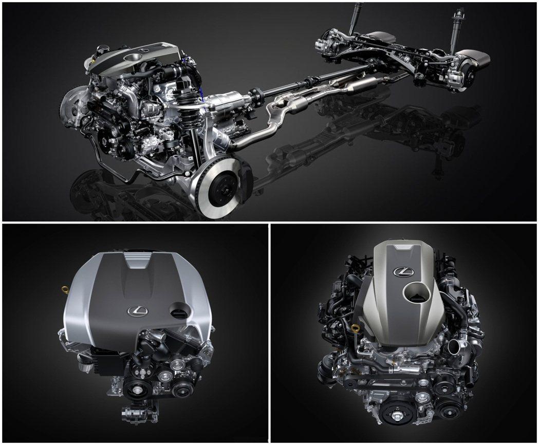 汽油版本依然只有2.0T與3.5 V6 NA兩種動力。 摘自Lexus