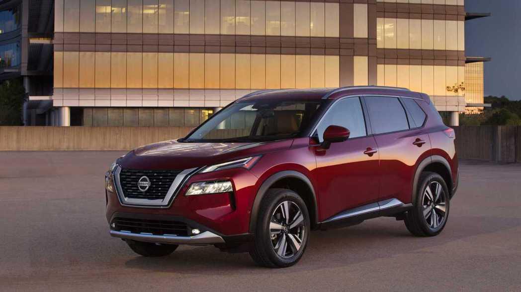 Nissan Rogue。 摘自Nissan