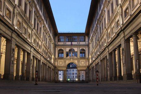 或許可以幫佛羅倫斯烏菲茲美術館取個暱稱叫:課本名畫與它們的產地。 圖/聯合報系資...