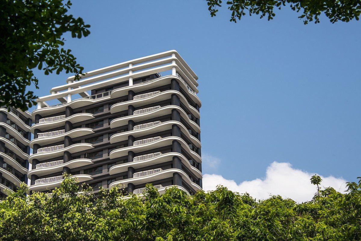 「碧波白」全棟SRC制震鋼骨,是北新路上唯一採中鋼鋼骨耐震6級以上的景觀建築安全...