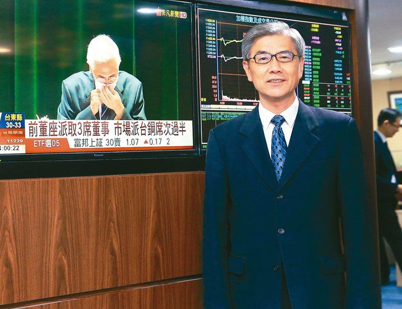 金管會主委黃天牧 記者潘俊宏/攝影
