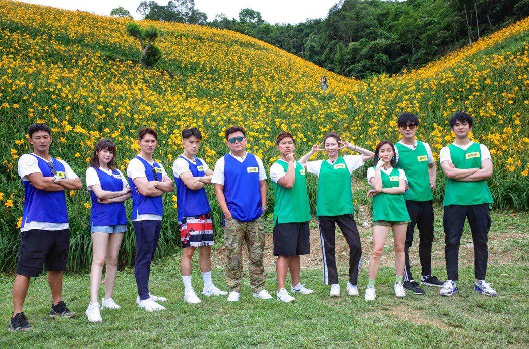 庹宗康、歐弟、紀言愷和張景嵐的「極智對決」是華視最新推出的外景綜藝,第一集跑到台