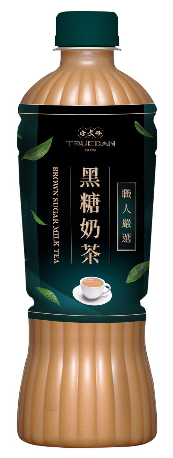珍煮丹黑糖奶茶,售價35元,6月17日至6月30日嘗鮮價29元。圖/全家便利商店...