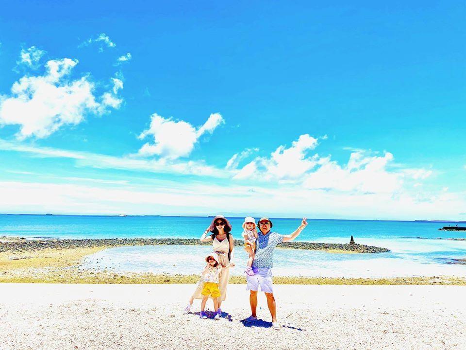 Paul和咪咪一家人今天到了澎湖。圖/摘自臉書