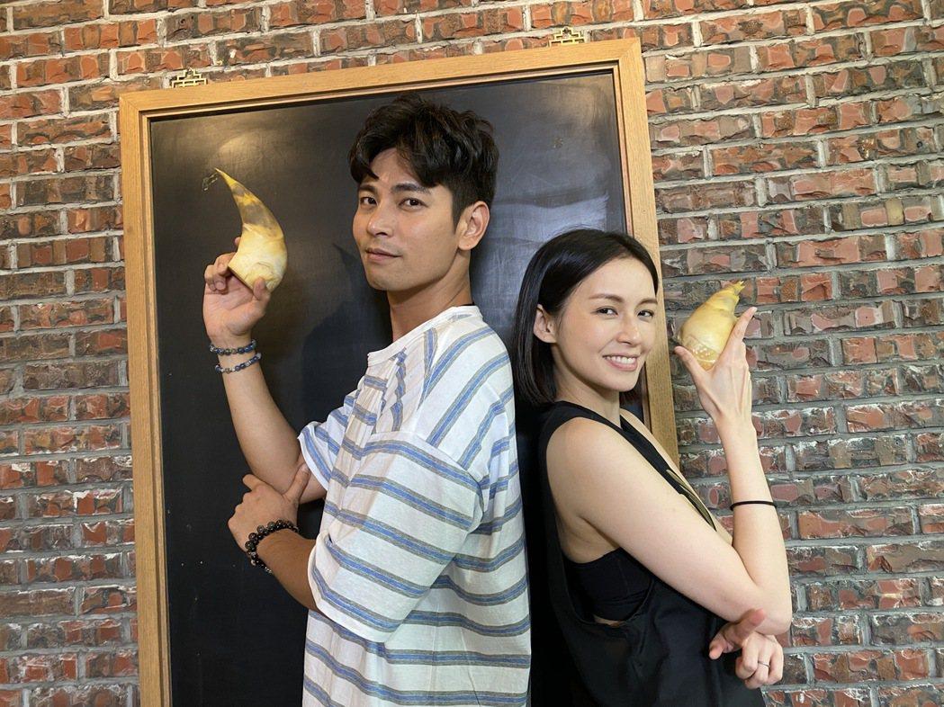 袁艾菲(右)邀好友楊子儀一同錄製「艾菲的小廚房」節目。圖/風雅國際提供