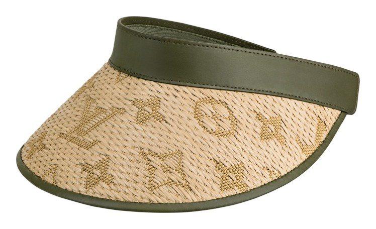 路易威登Strawgram遮陽帽,35,300元。圖/LV提供