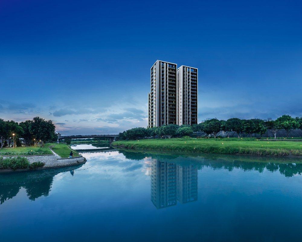 士林天母在地第一品牌全陽建設,與紅樹林水岸豪宅推手甲桂林,強強聯手所推出的「全陽...