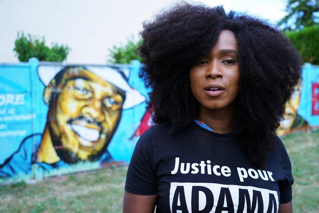 阿莎.陶黑(Assa Traoré)是法國BLM運動的重要人物。 圖/路透社