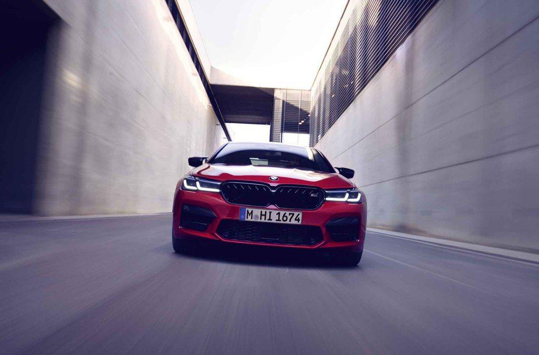 小改款BMW M5、M5 Competition皆可選配M Driver套件將車...