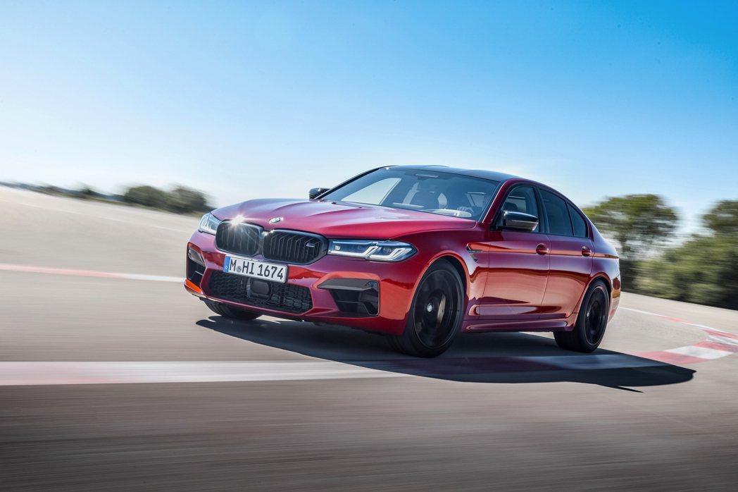 小改款BMW M5、M5 Competition今日(17)登場,圖為Compe...