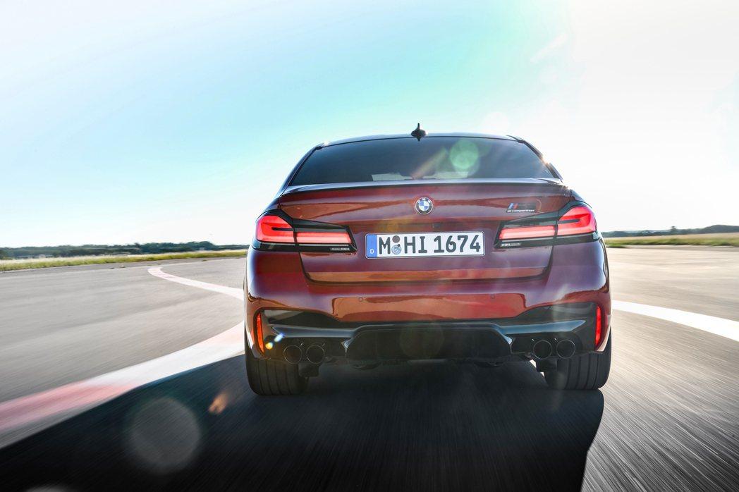 小改款BMW M5 Competition新增Track賽道模式。 摘自BMW