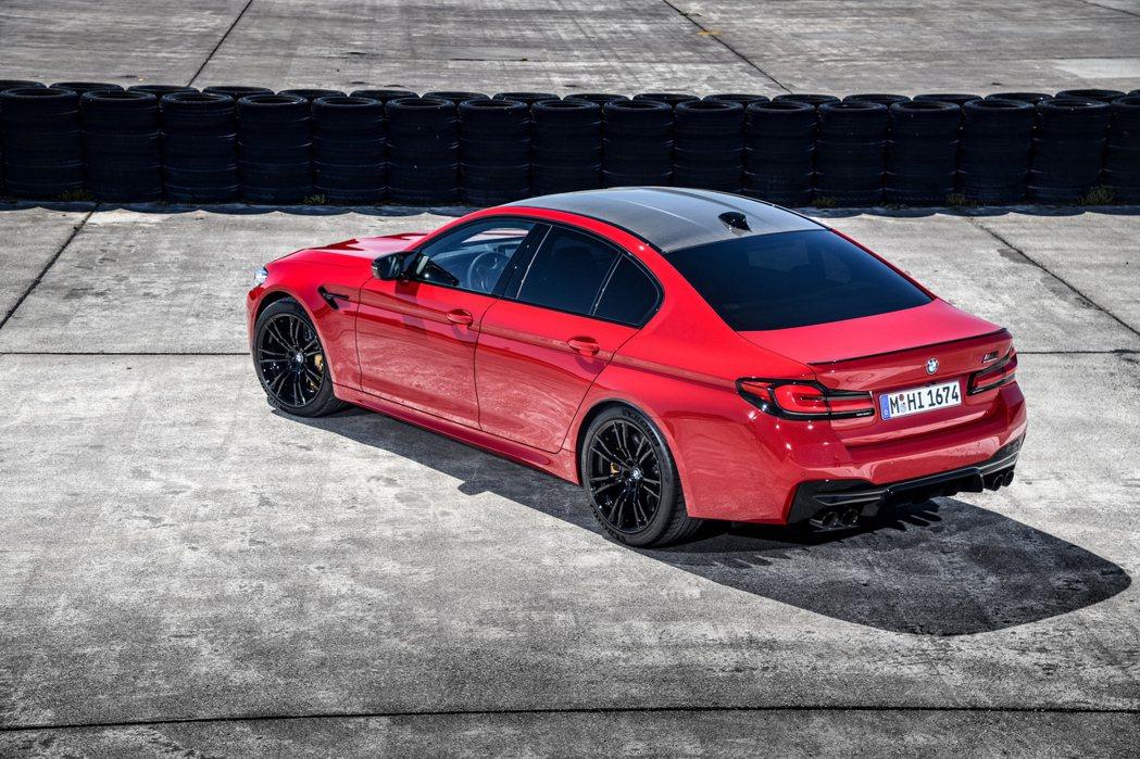 小改款BMW M5、M5 Competition正式亮相,圖為Competiti...