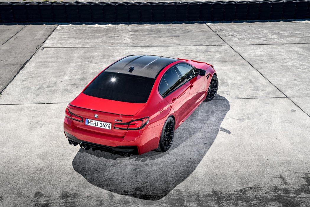 小改款BMW M5、M5 Competition今日登場之際,原廠也同步揭曉了德...