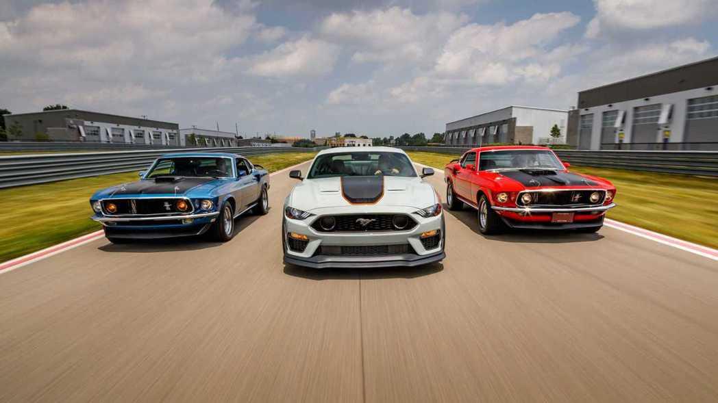 全新Ford Mustang Mach 1這時推出正好能將Mach 1稱號行銷全...